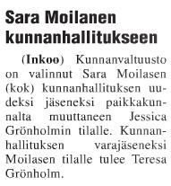 Sara Moilanen KOK EU 24.3.2016