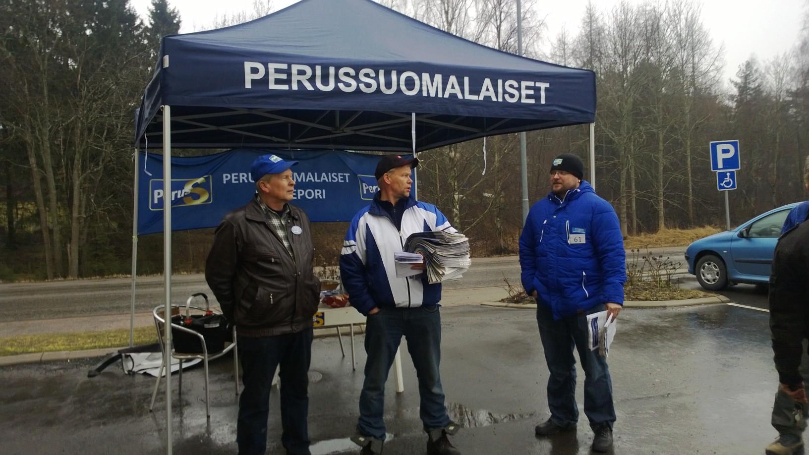 Toni Kemppainen Tammisaaressa 27.3.2015