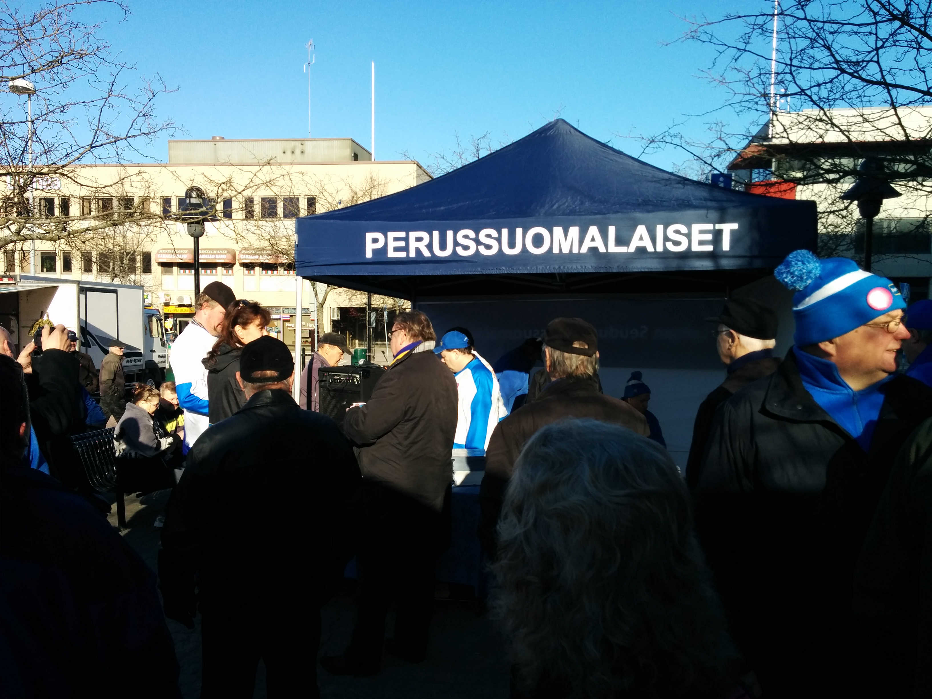 Lohjan eduskuntavaalitilaisuus 11.4.2015